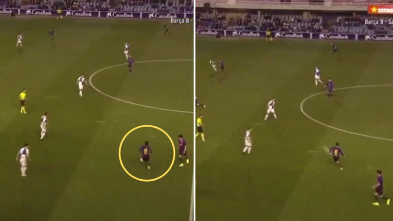 The Moment 19-Year-Old Riqui Puig Morphed Into Andres Iniesta And Produced A Stunning Pass