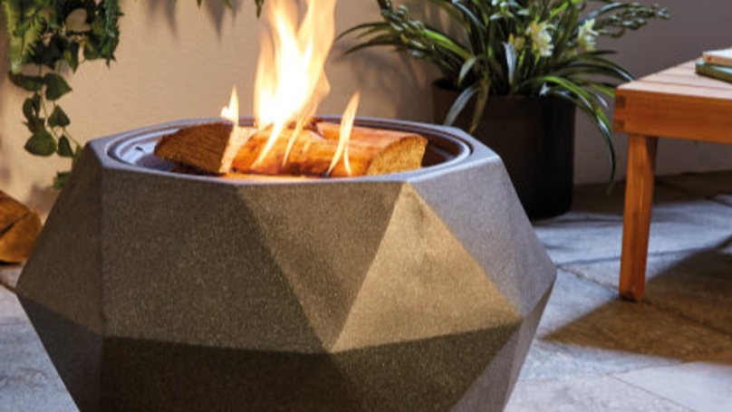 Aldi Is Selling A Fire Pit That Doubles Up As A Barbecue