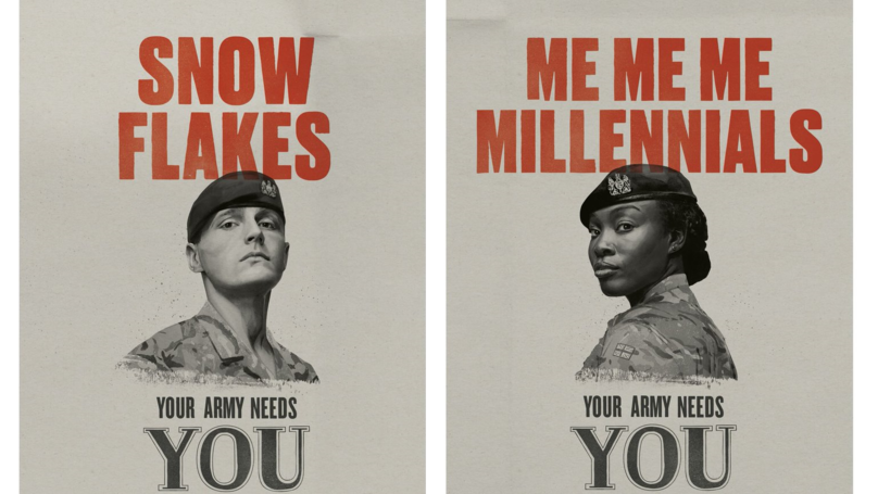 The British Army Is Recruiting 'Snowflakes' And 'Phone Zombies' In New Campaign