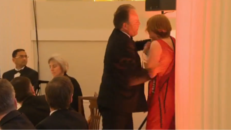 MP Mark Field Filmed Grabbing Climate Change Protestor By The Throat At Black Tie Event In London