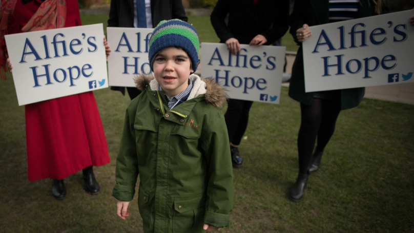 Alfie Dingley's Mum Learns That He Will Be Allowed Cannabis Treatment