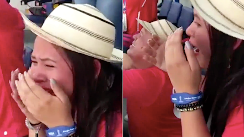 Panama Supporters In Tears Of Joy After Scoring First Ever World Cup Goal