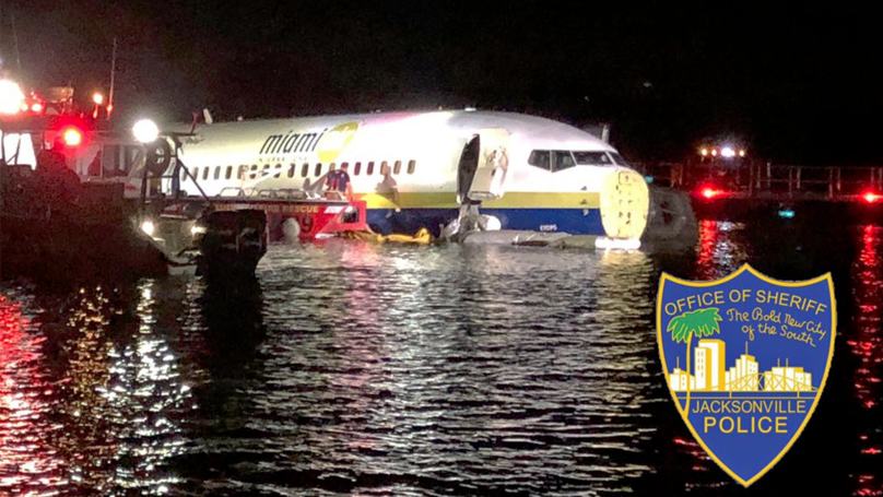 Plane Carrying 143 People Crashes Into River In Florida