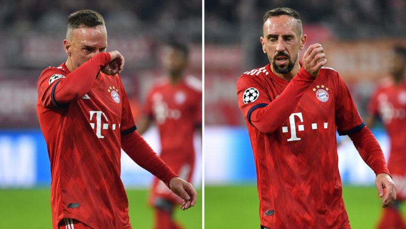 Franck Ribéry Speaks Out After 'Slapping' Journalist In The Face