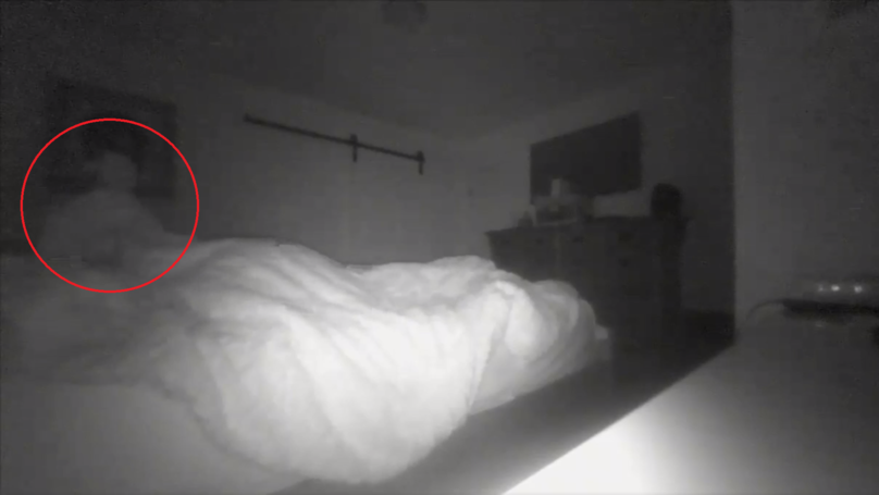 Video Footage Shows 'Ghost' Moving Around In Sleeping Man's Bedroom