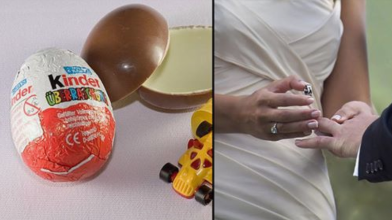 Woman Places Ring In Kinder Egg Inside Herself To Propose To Boyfriend