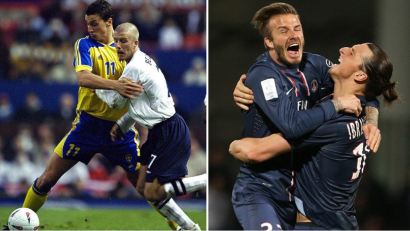 Zlatan Ibrahimovic Makes Hilariously Brilliant Bet With David Beckham Ahead Of Sweden-England