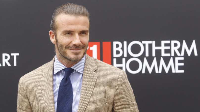 David Beckham Shuts Down A Fan After 'Botox' Claim