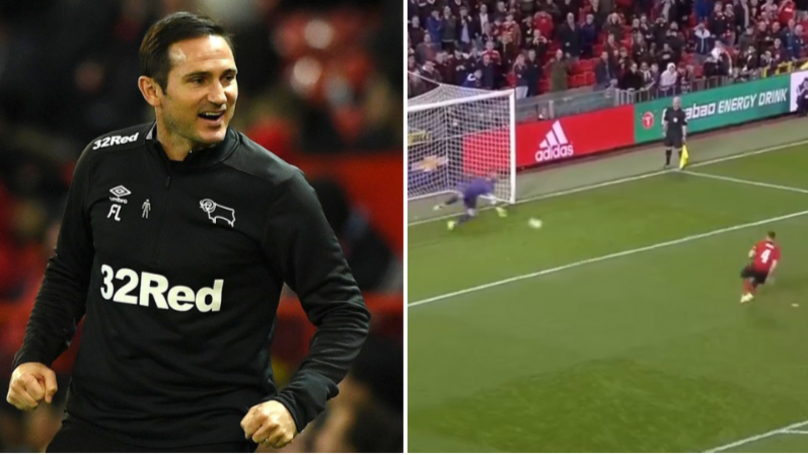 Frank Lampard's Derby Knock Manchester United Out Of The Carabao Cup