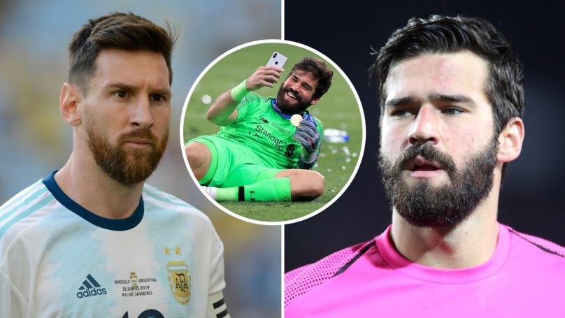 Alisson Has Now Become Lionel Messi's Biggest Tormentor In Football