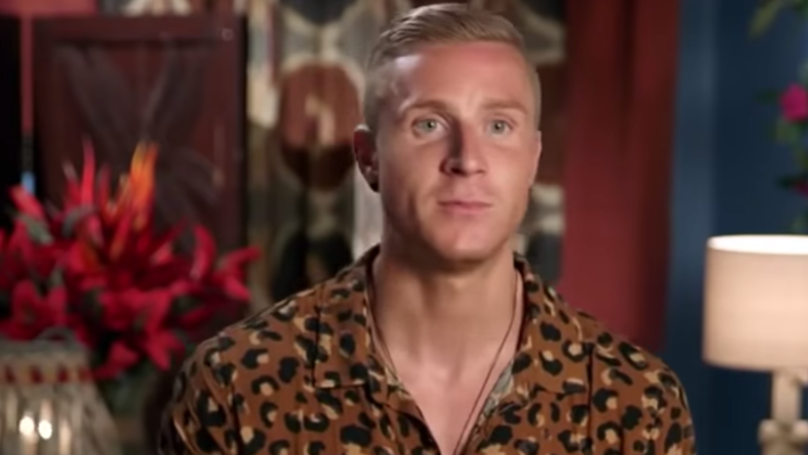 Bachelor In Paradise's Paddy Colliar Says He's Been Getting Death Threats