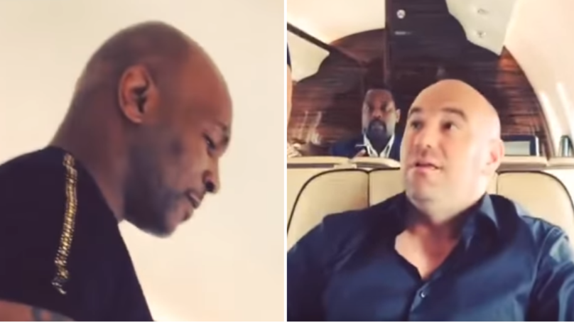 When Mike Tyson Hilariously Bullied Dana White Out Of His Seat