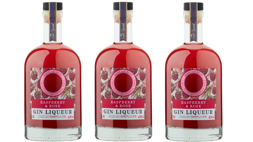 UK Supermarket Is Selling £10 Bottles Of Glittery Pink Gin For Valentine's