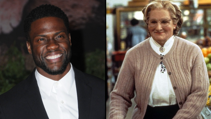 A 'Mrs Doubtfire' Remake Starring Kevin Hart? He's Up For It