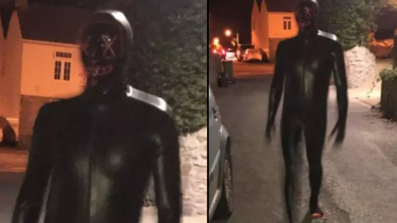 Police Arrest Man Suspected Of Terrorising UK Village Dressed In Gimp Suit