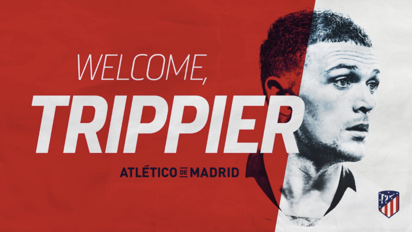 Kieran Trippier Signs Three Year Deal With Atletico Madrid