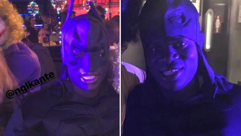N'Golo Kante Dressed As Batman For David Luiz's Birthday