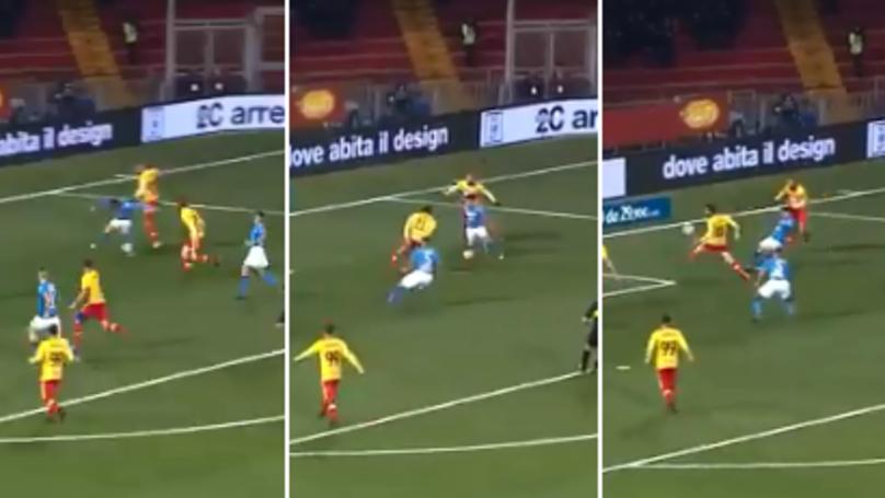 Watch: Dries Mertens Scores Sensational Chip For Napoli