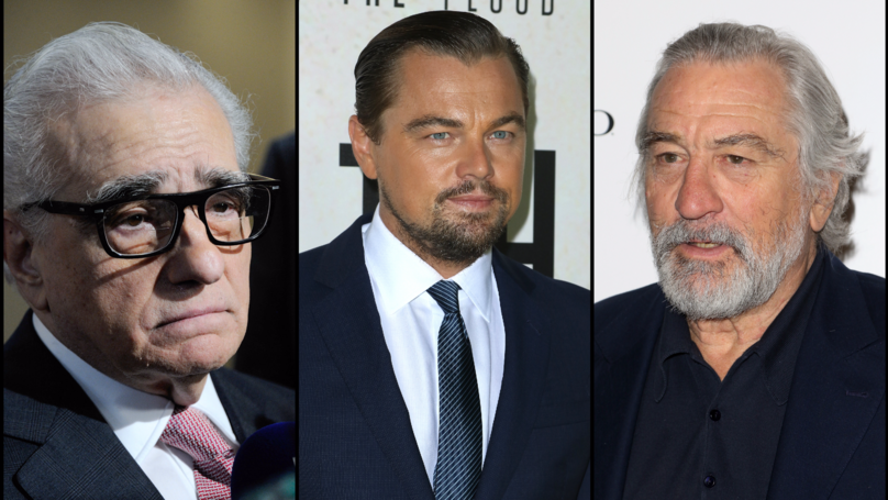Scorsese, DiCaprio And De Niro Could Star Together For The First Time