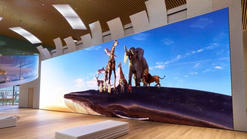 Sony Unveils 16K TV That Is Bigger Than A Bus