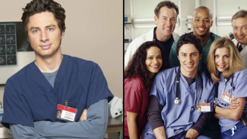 Zach Braff Remembers Original Scrubs Cast 17 Years After Show Premiered