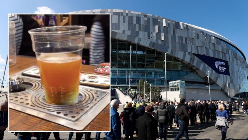 "There's ""Magic Beer""At Tottenham's New Stadium And It's Something Else"