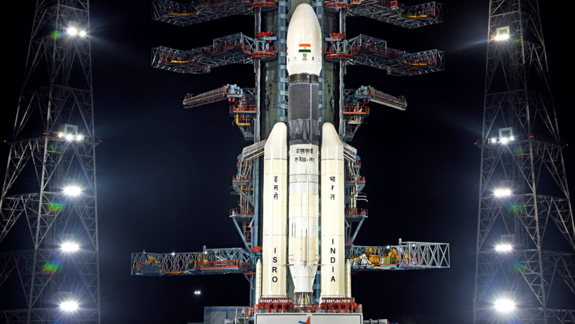 India Successfully Launches Rocket To The Moon Ahead Of Lunar Landing