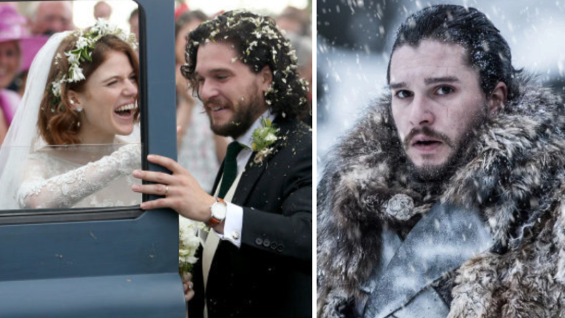 Fans Turn Kit Harington And Rose Leslie's Wedding Into Game Of Thrones Storyline