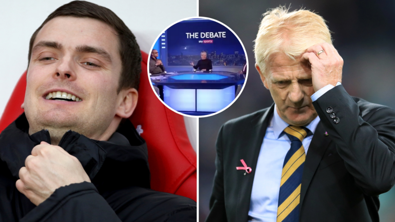 92f61082286b6 Gordon Strachan Won t Feature On Sky Sports After Comments Made On Adam  Johnson