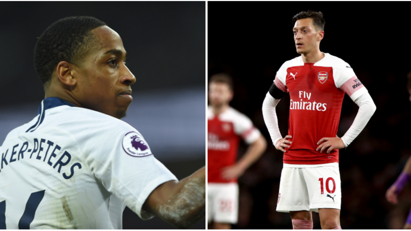 Kyle Walker Peters Has Three Times As Many Assists As Mesut Ozil