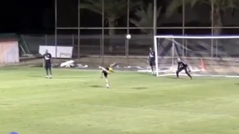 APOEL FC's Tomás De Vincenti Scores Ridiculous Training Ground Goal