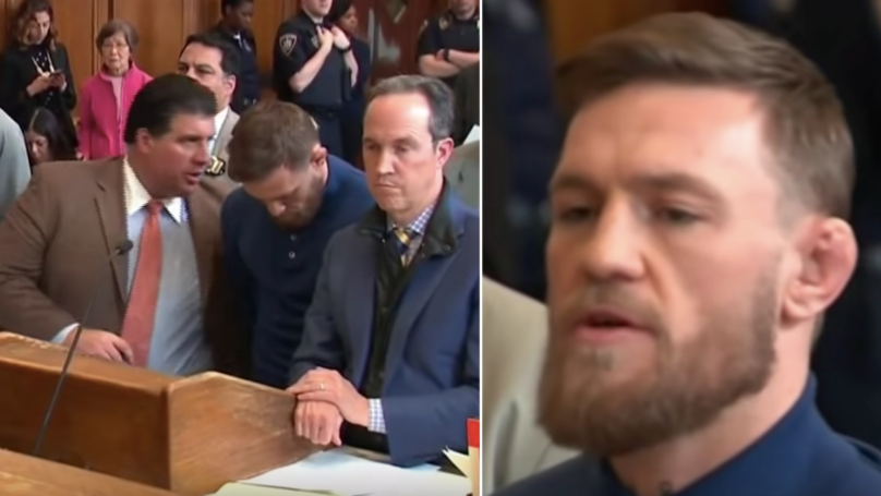 The Full 10 Minute Version Of Conor McGregor's Court Appearance Has Been Released