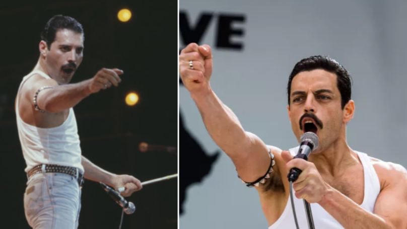 Rami Malek's Live Aid Performance In 'Bohemian Rhapsody' Is Scarily Precise