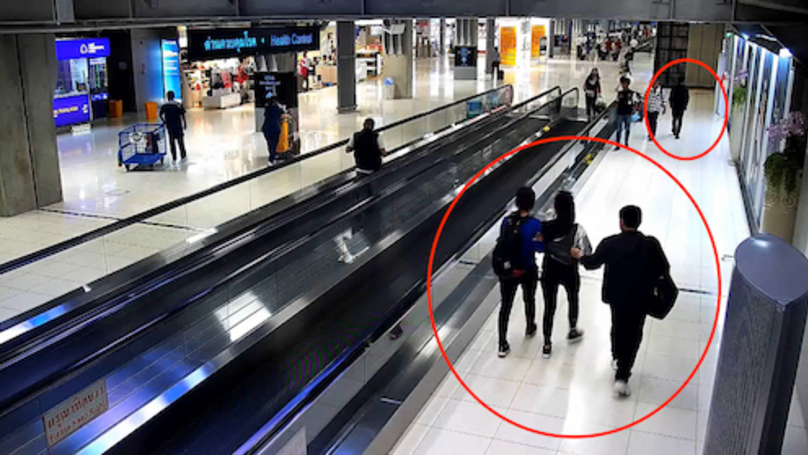 Shocking Video Footage Shows Woman Being Kidnapped At Bangkok Airport