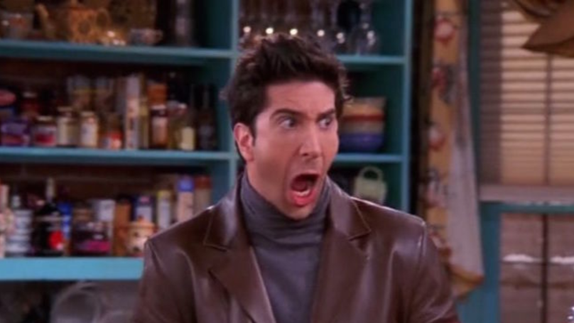 Ross Geller Is Creepy When You Take The Laughing Track Off 'Friends'