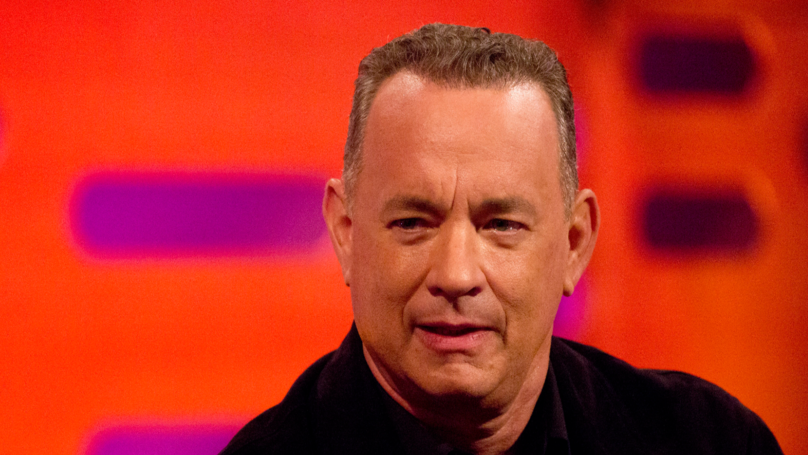 Tom Hanks Shares His Approach To Playing Real People - While Getting Punched By Maisie Williams