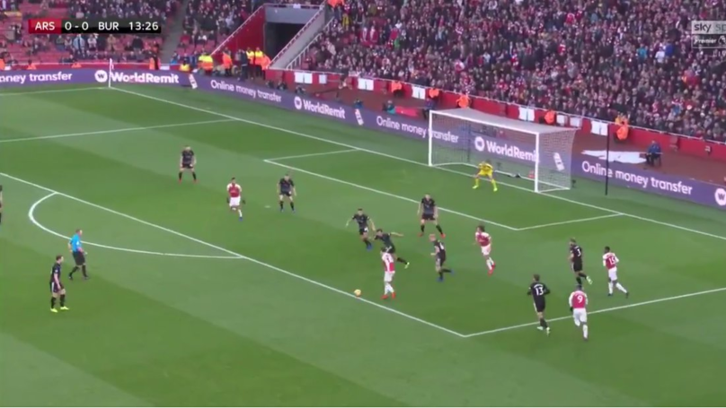 Sead Kolasinac Wasn't Even In The Picture When Mesut Ozil Made The Pass