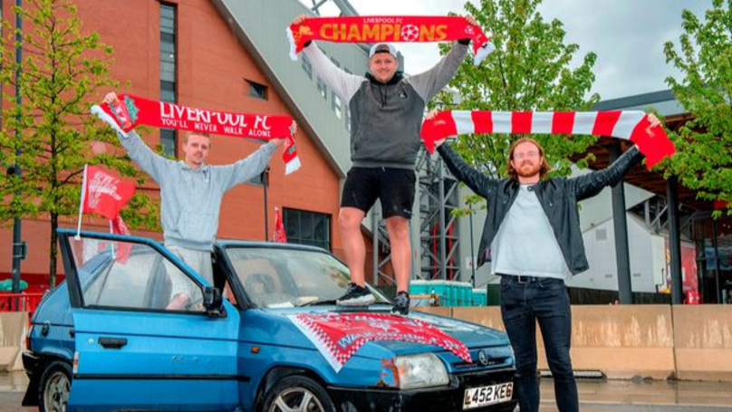 Liverpool Fan Who Drove £40 Car To Champions League Final Makes It Back To Anfield
