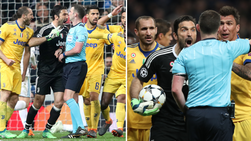 Gary Lineker Perfectly Sums Up Buffon's Actions After Sending Off