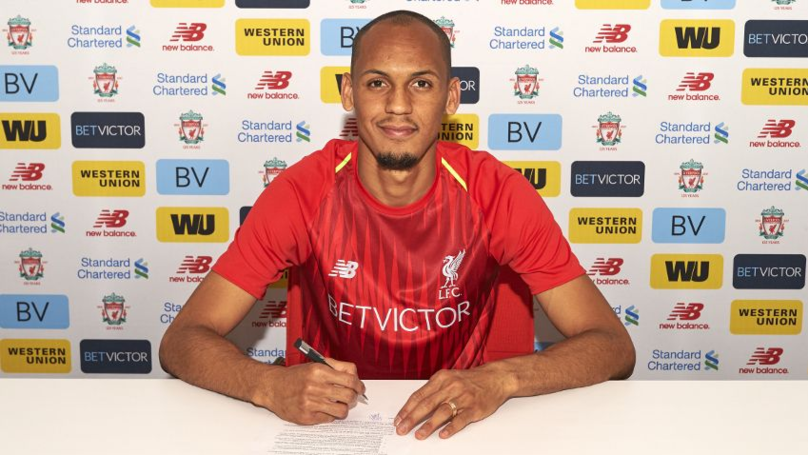 Liverpool Announce The Signing Of Fabinho On Five-Year Deal