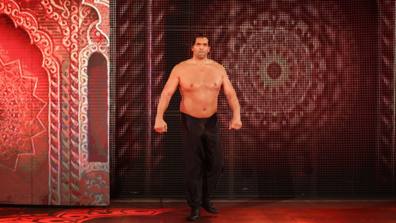 Watch the great khali made a shocking return to wwe last night watch the great khali made a shocking return to wwe last night sportbible voltagebd Images