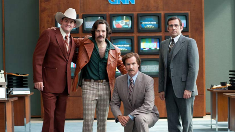 The Outtakes From 'Anchorman' Are Absolutely Hilarious