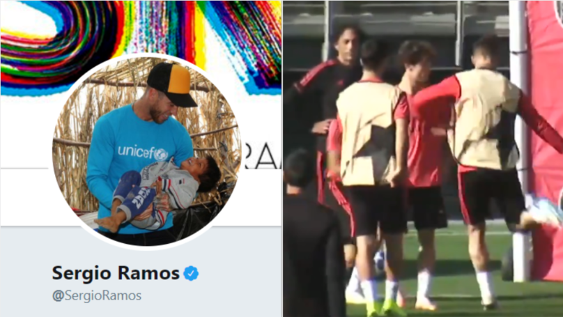 Sergio Ramos Responds After Losing His Rag With Real Madrid Youngster In Training