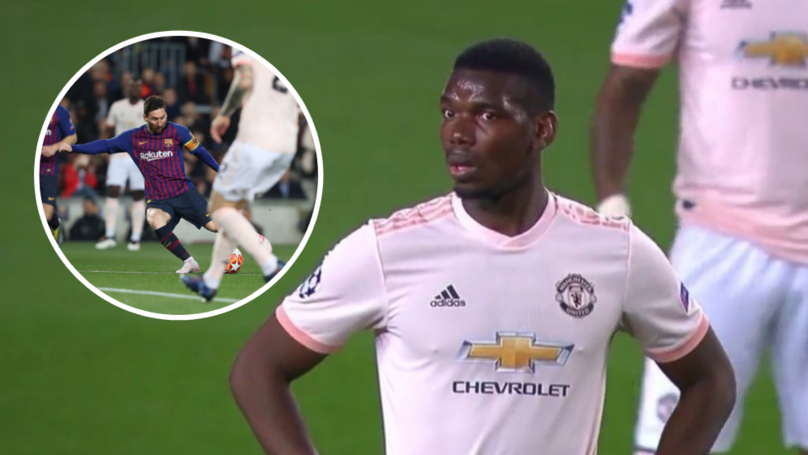 Paul Pogba's Reaction To Lionel Messi's Stunning Individual Goal Is Absolutely Priceless
