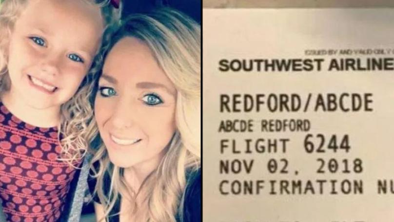 妈妈说她的小女孩被航空公司职员嘲笑她不寻常的名字。manbetx亚洲