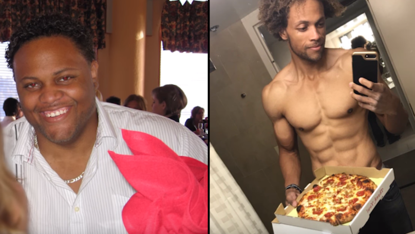 Guy Loses Almost 13st While Still Eating Pizzas, McDonald's And Crisps