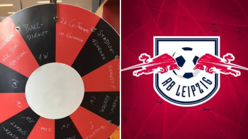 RB Leipzig Have Introduced A Crazy New 'Wheel Of Fortune' To Punish Players