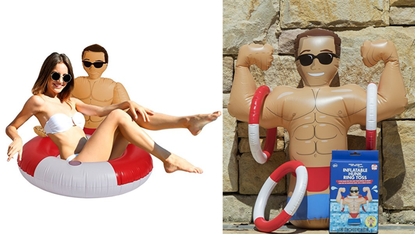 Single Gals, Amazon Is Now Selling An Inflatable Hunk Collection