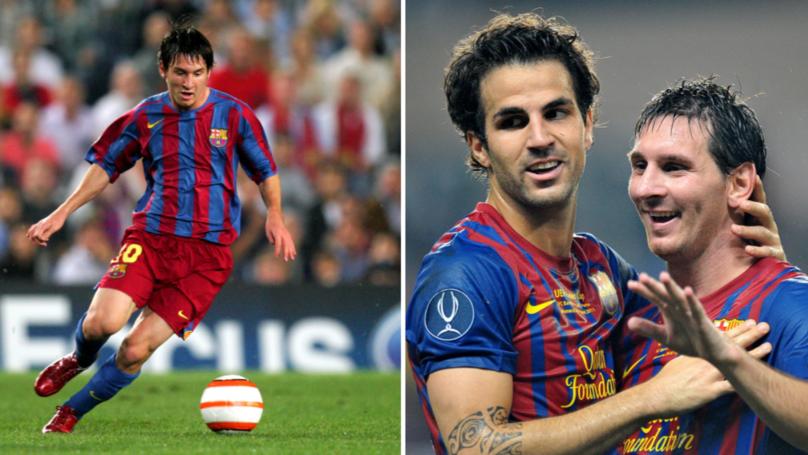Cesc Fabregas Discusses Having To Train Against Lionel Messi