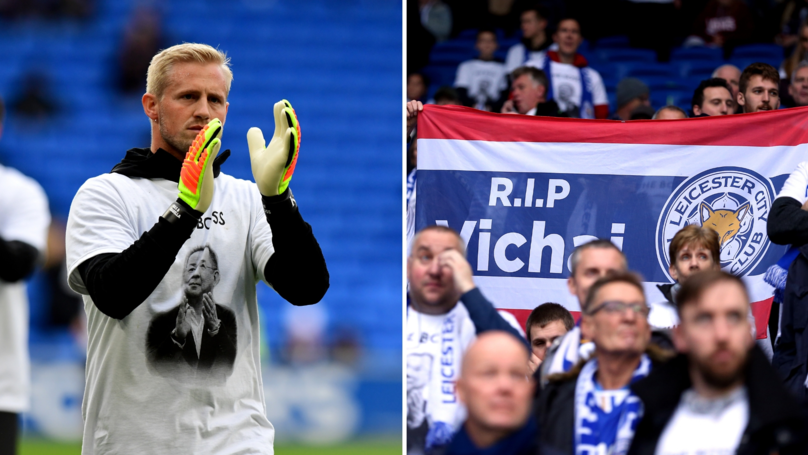 Kasper Schmeichel's Heroics Show How Important He Was For Foxes After Helicopter Crash
